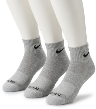 Nike Men's 3-pack Everyday Plus Cushion Ankle Training Socks