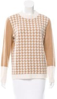 Magaschoni Cashmere Houndstooth Sweater