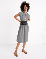 Madewell x Christy Dawn Piper Midi Dress in Gingham Check