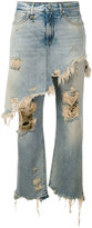 R 13 skirt and jeans