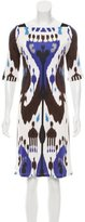 Gucci Batik Print Knee-Length Dress w/ Tags