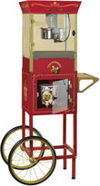 Nostalgia Electrics Nostalgia CCP810 59-Inch Tall Commercial 8-Ounce Kettle Popcorn Dispensing Cart