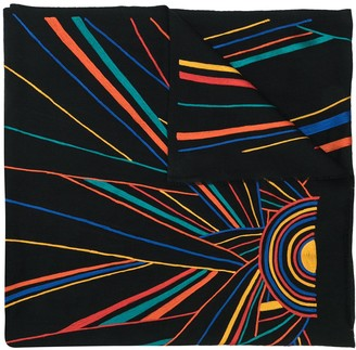 K. Janavi Sunrise cashmere scarf