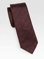 Armani Collezioni Diagonal Silk Tie