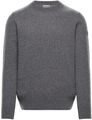 Moncler Wool Stripe-Detail Sweater