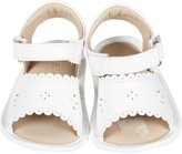Elephantito Sandal w/Scallop (Infant) - White-2 Infant
