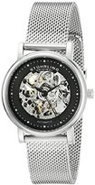 Stuhrling Original Women's 832L.02 Castorra Analog Display Automatic Self Wind Silver Watch