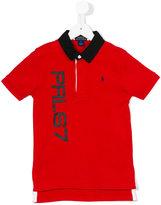 Polo Ralph Lauren contrast collar polo shirt - kids - Cotton - 6 yrs