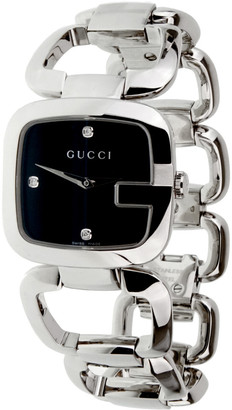 Heritage Gucci Gucci Women's Stainless Steel Diamond Watch
