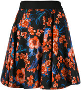 Fausto Puglisi floral print full skirt - women - Silk/Cotton/Acetate - 40