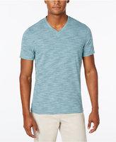 Alfani Men's Premium Stripe V-Neck T-Shirt, Only at Macy's
