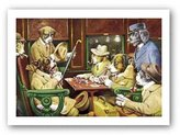 "Camilla And Marc Haddad's His Station And Four Aces by C.M. Coolidge 13.75""x9.25"" Art Print Poster"