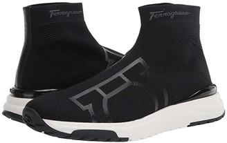 Salvatore Ferragamo Soft Sneaker (Black) Men's Shoes