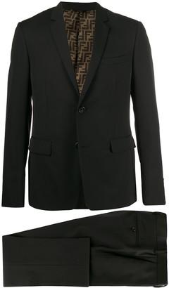 Fendi slim-fit two-piece suit