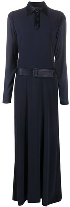 Jean Paul Gaultier Pre Owned Pre-Owned Belted Maxi Dress