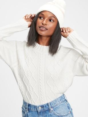 Gap Cable Knit Crewneck Sweater