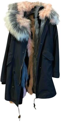 Mr & Mrs Italy Multicolour Fox Coats