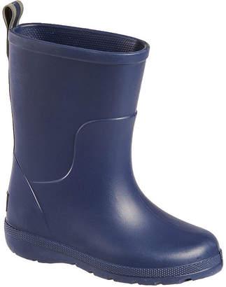 totes Girls Cirrus Waterproof Slip Resistant Flat Heel Rain Boots