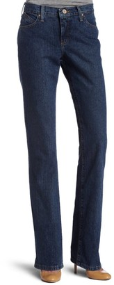 Wrangler Women's Cash Mid Rise Vented Hem Ultimate Riding Jean