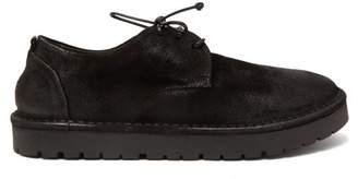 Marsèll Sancrispa Alta Suede Derby Shoes - Mens - Black