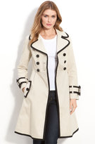 Kate Spade New York 'topliner' Contrast Trim Trench Coat