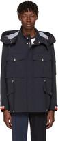 Moncler Gamme Bleu Navy Field Jacket