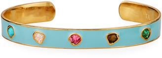 Tai Rainbow Stone Cuff Bracelet