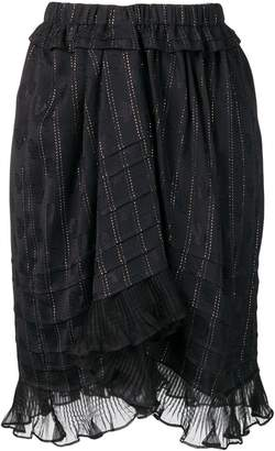 Isabel Marant ruffled panel skirt