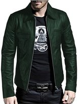 Laverapelle Men's Genuine Lambskin Leather Jacket - 1510200