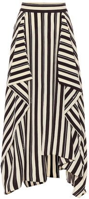 Loewe Striped maxi skirt