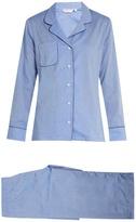 Derek Rose Amalfi cotton-batiste pyjamas
