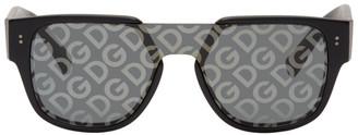 Dolce & Gabbana Black Domenico Mask Sunglasses