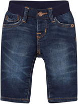 Gap Dark Wash 1969 First Supersoft Straight Jeans