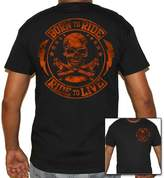 Biker Life Clothing Biker Life USA Born to Ride/Live to Ride T-Shirt