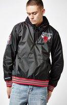 Mitchell & Ness Chicago Bulls Quarter Zip Nylon Jacket