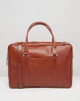 Royal RepubliQ Affinity Leather Laptop Bag In Cognac