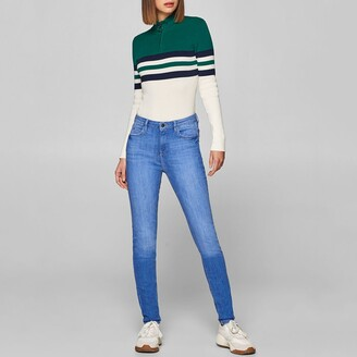 Esprit Cotton Skinny Jeans with High Waist