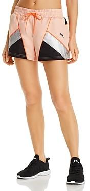 Puma Tfs Piped Color-Block Shorts