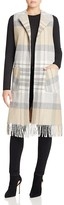 Helene Berman Plaid Vest with Fringe
