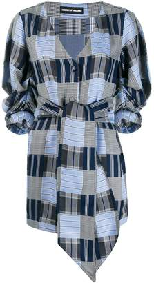 House of Holland waist-tied fitted dress