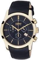 Esprit Men's Quartz Watch Eros Chrono EL101741F04 with Metal Strap