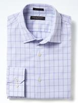Banana Republic Grant-fit Supima® Cotton Grid Shirt