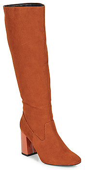 Andre LUXURY women's High Boots in Orange