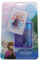 Disney Frozen Sisters Forever Glitter Keepsake Box with Roll On Eau de Toilette 8 ml by