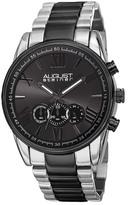 August Steiner Men's Quartz Chronograph Bracelet Watch