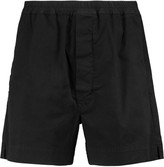 Rick Owens Dark Shadow cotton-blend corduroy shorts