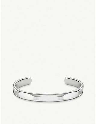 Thomas Sabo Minimalist sterling silver cuff bangle