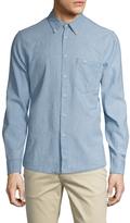 Nudie Jeans Men's Stanley Button-Down Sportshirt
