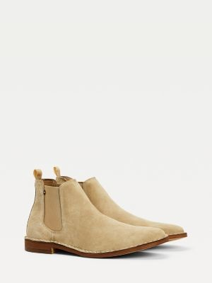 Tommy Hilfiger Suede Chelsea Boots