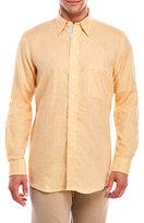 Mine Marled Linen Button-Down Shirt